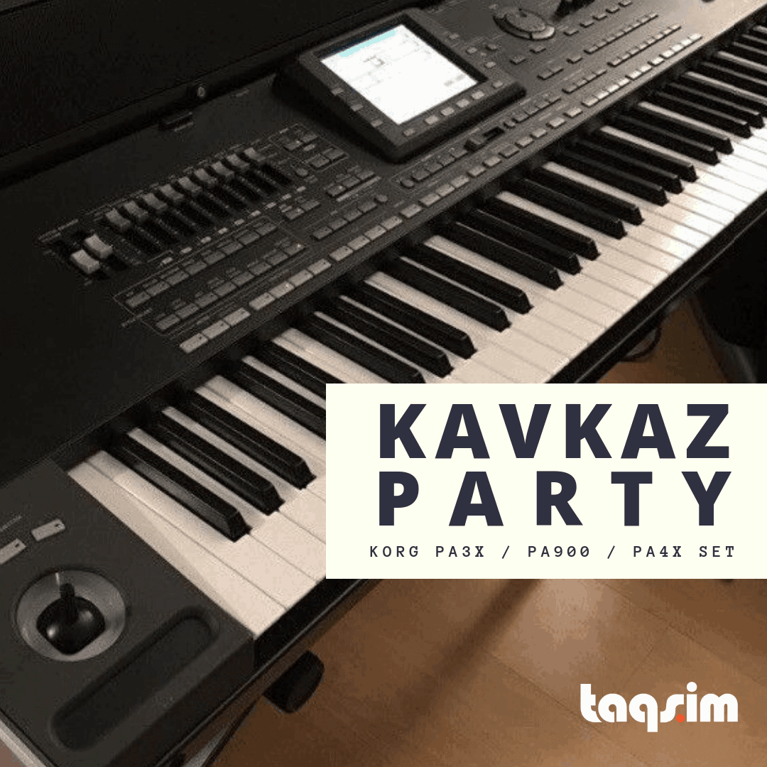 Kavkaz Party (Korg PA-Series) | TAQS IM